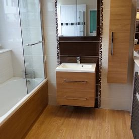 chase bedrooms and kitchens bathroom fitted for a customer